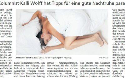 Was tun für gesunden Schlaf
